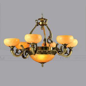 đèn đồng đá