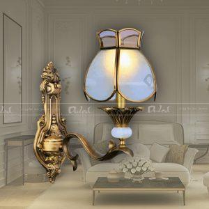 đèn vách bằng đồng