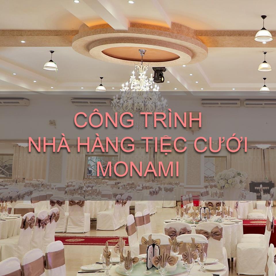 nhà hàng tiệc cưới monami